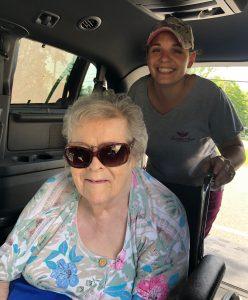 Nkki Grandma in Van